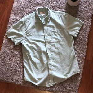 Sonoma Goods for life mens short sleeve button up